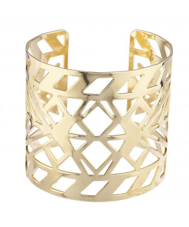 Lux Accessories Aztec Cutout Bracelet
