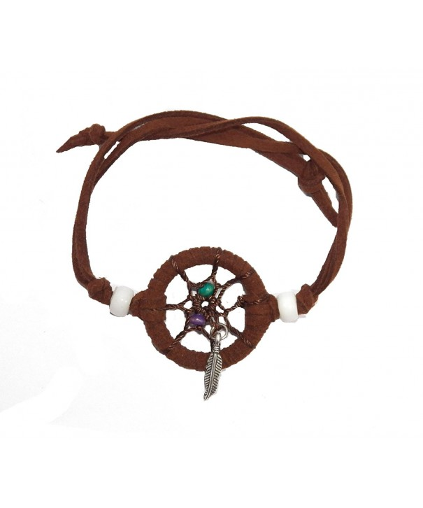 Dream Catcher Bracelet Leather DCB10003