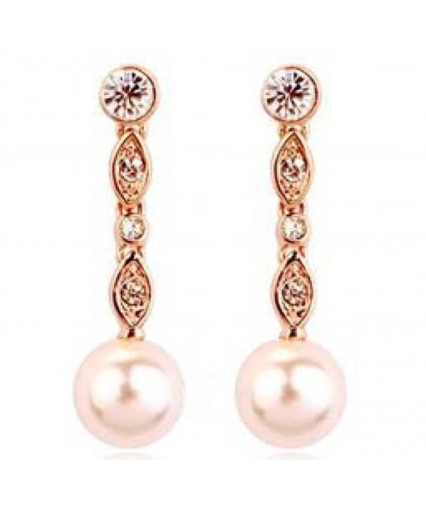 ROMANTIC Swarovski Crystals Simulated earrings