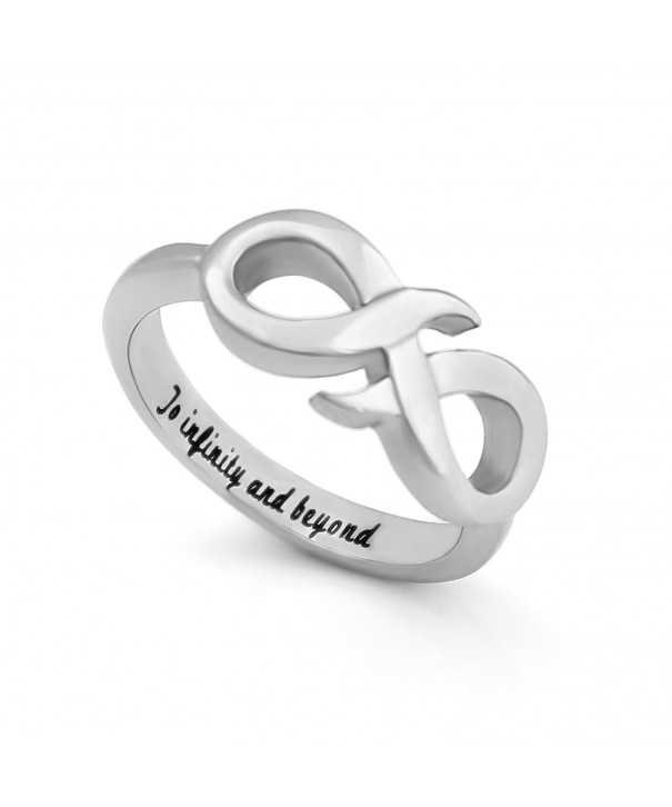Infinity Promise Symbol Beyond Engraved