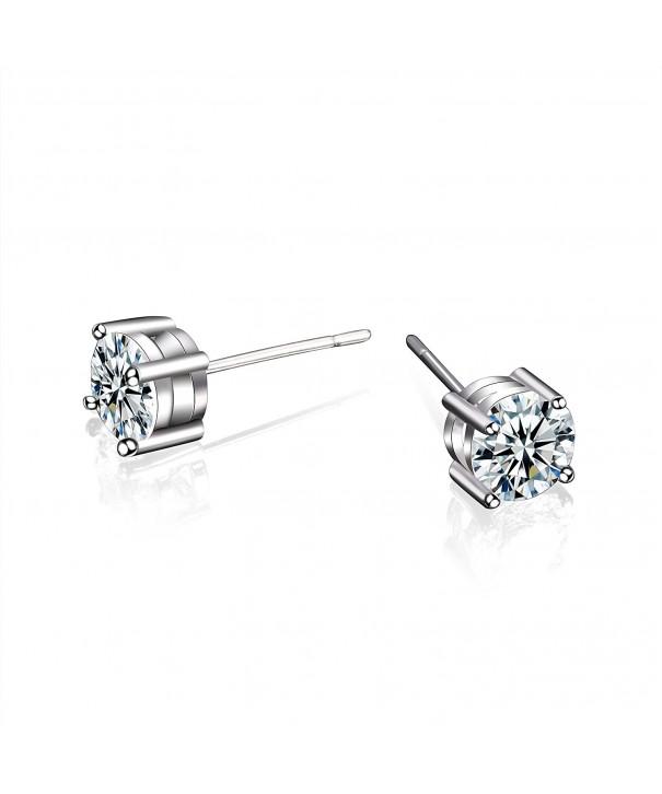 CONNIE Y Earrings Classic Zirconia Diamond