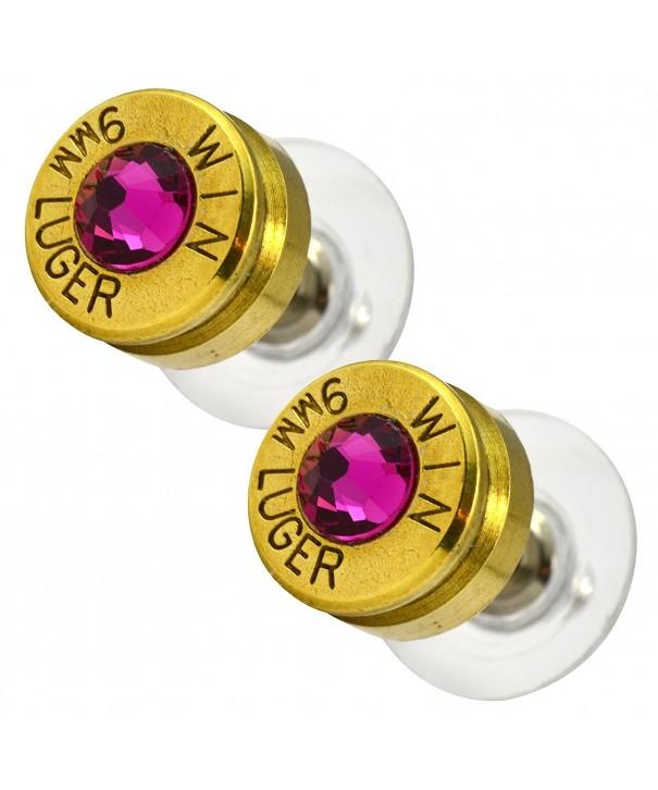 LoriDavidson Designer Bullet Crystal Earrings
