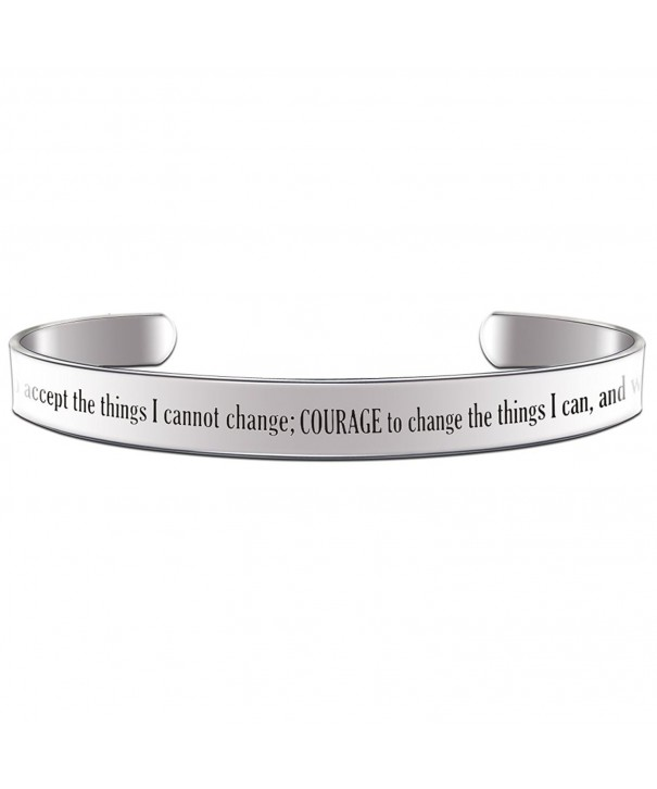 Serenity Accept Things Change Bracelet