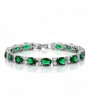 40 00 Round Zirconias Tennis Bracelet