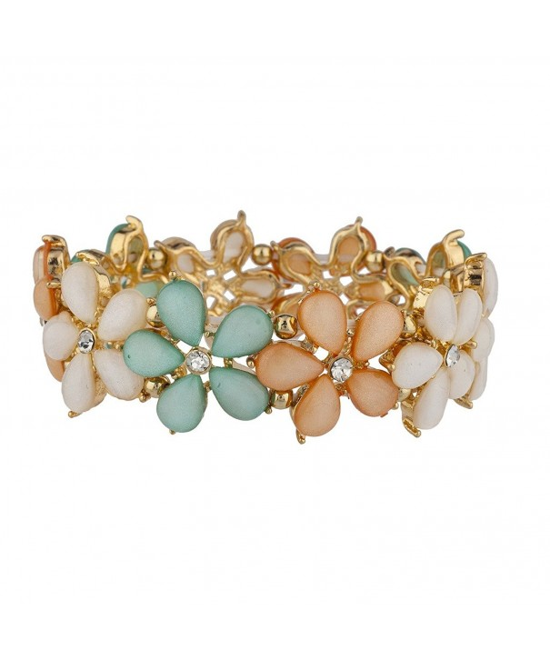 Lux Accessories Shades Stretch Bracelet