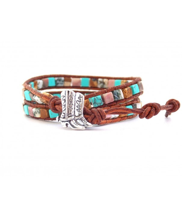 Equestrian Bracelet Cowgirl Synthetic Turquoise