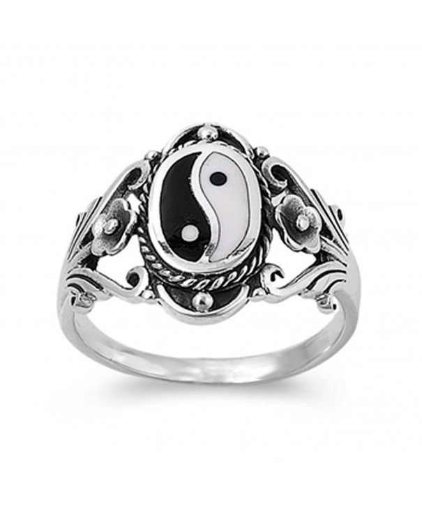 Sterling Silver Chinese Wholesale RNG13805 8
