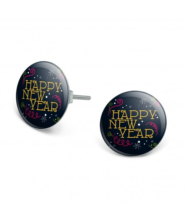 Happy Novelty Silver Plated Earrings