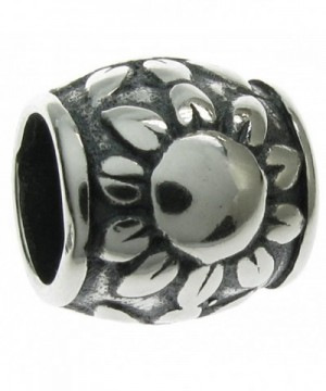 Sterling Silver Sunflower European Style