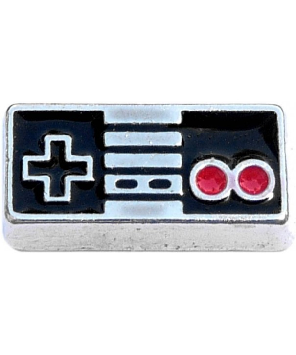 Video Controller Floating Locket Charm