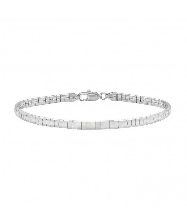 Sterling Silver Nickel Free Omega Chain