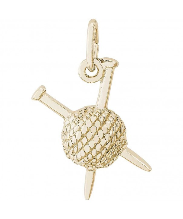 Rembrandt Charms Knitting Plated Silver