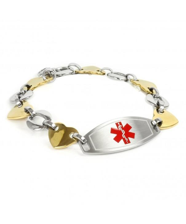 MyIDDr Medical Bracelet Engraving Medium