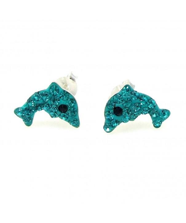Adorable Jumping Zirconia Sterling Earrings