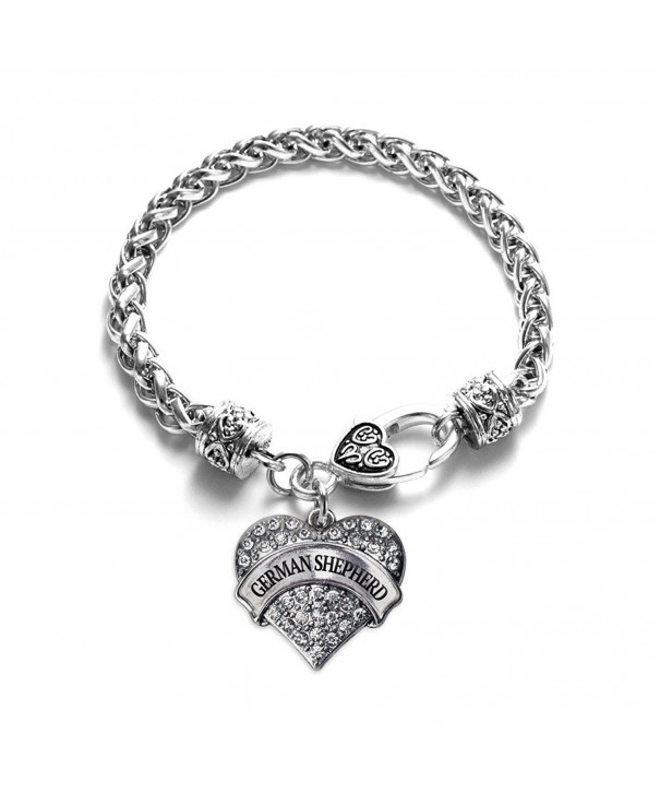 Shepherd Bracelet Silver Lobster Crystal