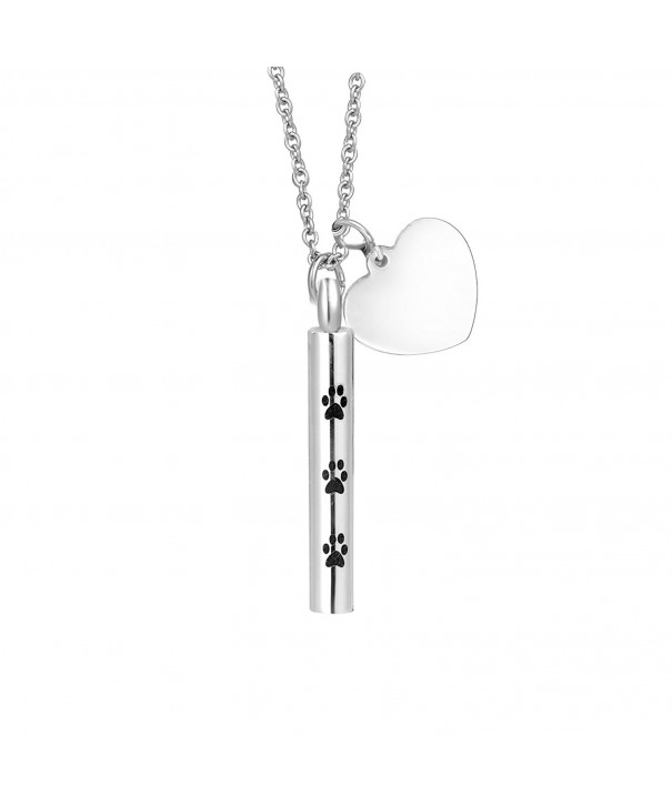 Cremation Personalized Cylinder necklace Memorial