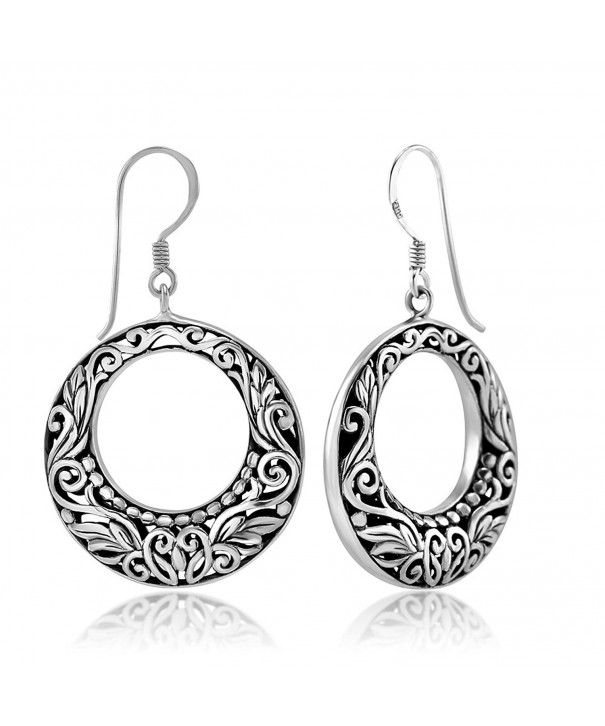 Sterling Silver Inspired Filigree Earrings
