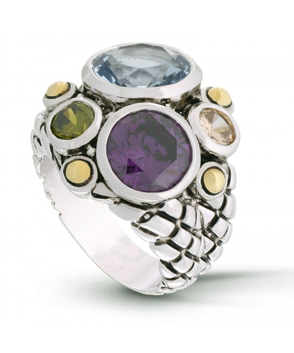 JanKuo Jewelry Multicolor Modern Cocktail