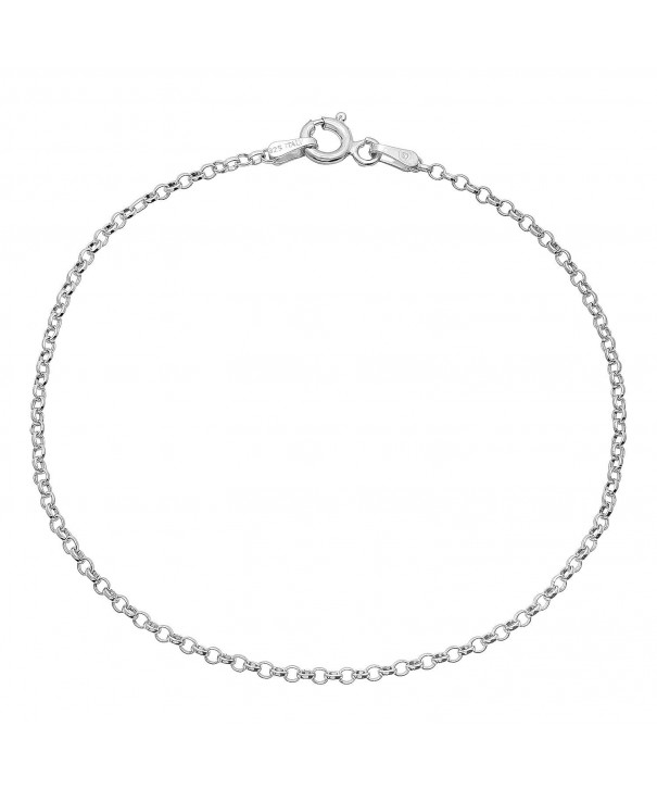 Sterling Silver Nickel Free Cable Chain