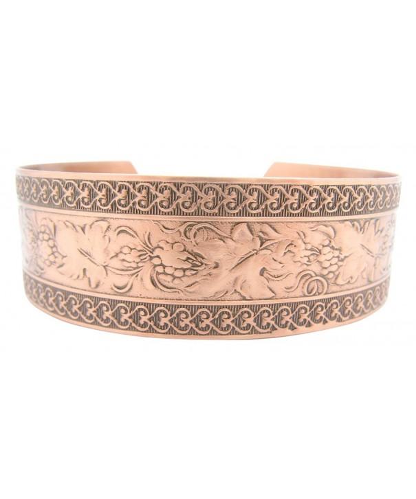 Womens Copper Cuff Bracelet CB1001C1
