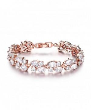 GULICX Crystal Zirconia Vintage Bracelet