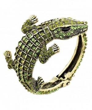 Rosemarie Collections Womens Alligator Bracelet