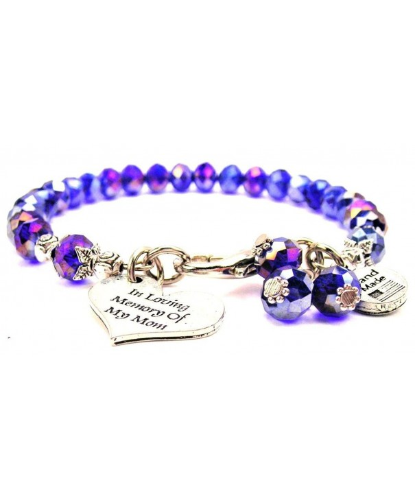 Sapphire Crystal Loving Memory Bracelet