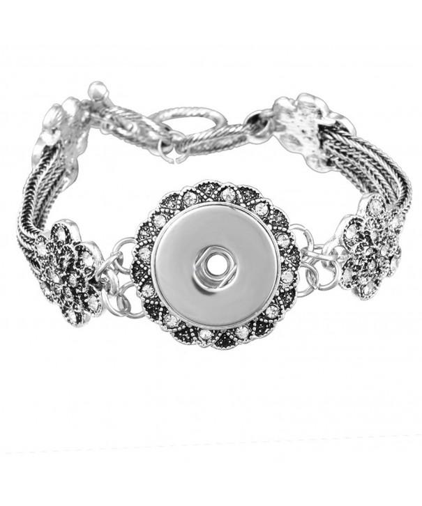Souarts Antique Silver Bracelet Jewelry