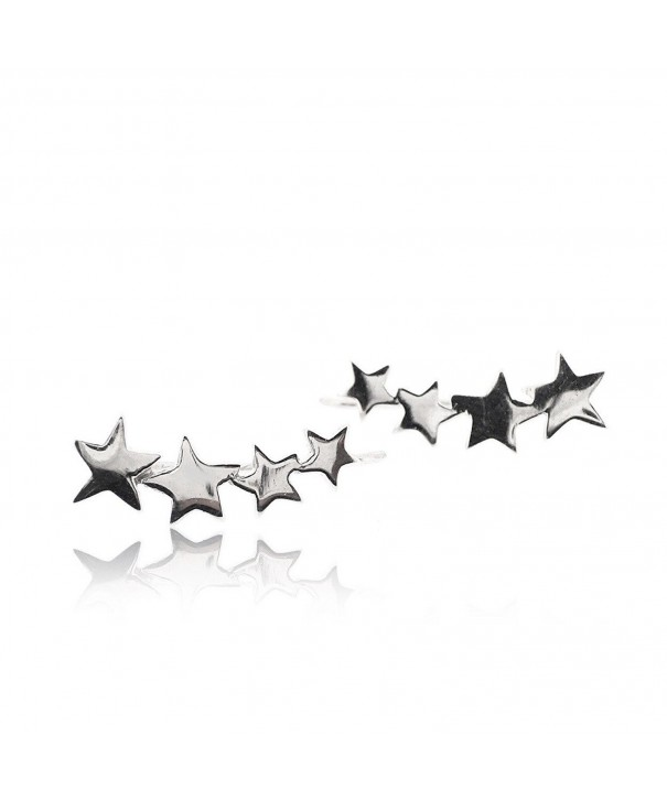 Sovats Earring Sterling Silver Rhodium