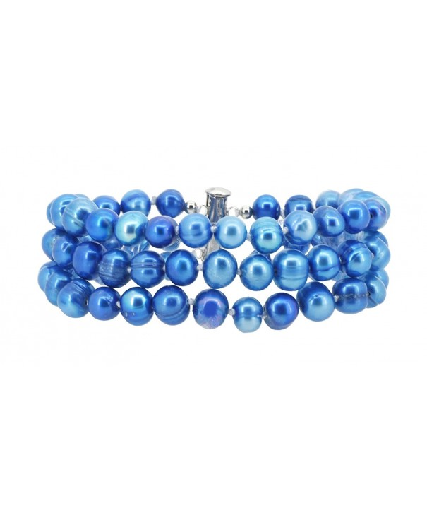 Knotted Freshwater Cultured Pearls Bracelet