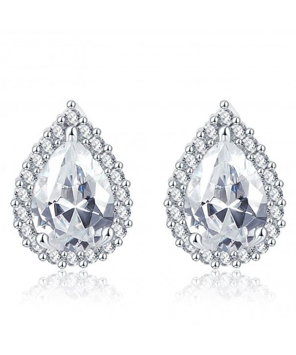FENDINA Elegant Earring Princess Teardrop