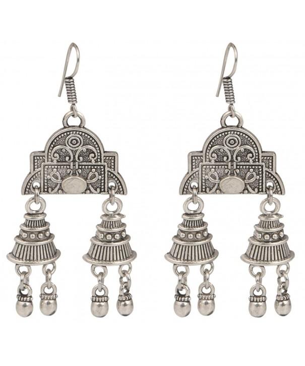 Sansar India Silver Earrings Jewelry
