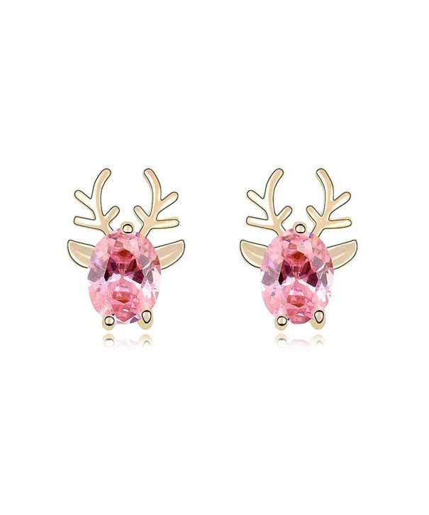 Crystal Diamond Christmas Earrings SWAROVSKI