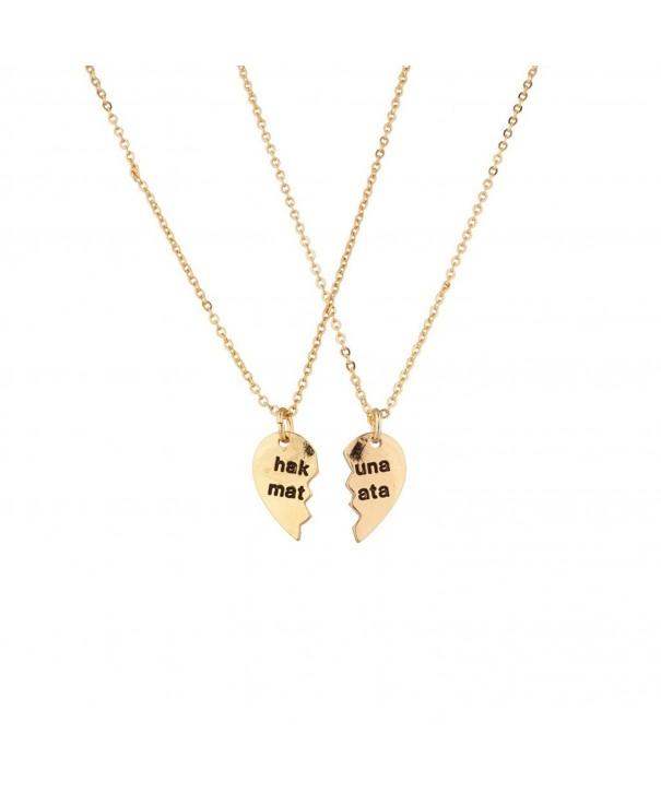 Lux Accessories Worries Detachable Necklace