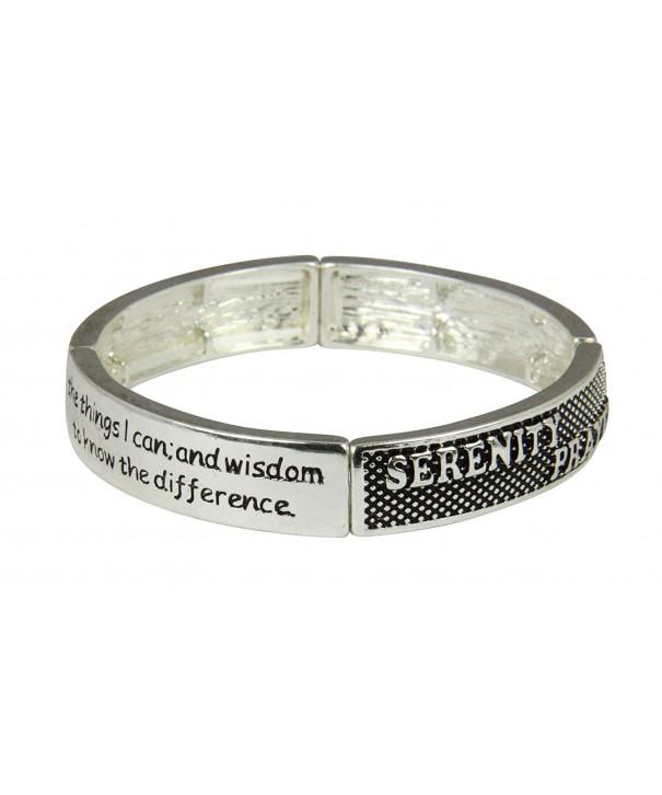 4030393 Serenity Prayer Stretch Bracelet