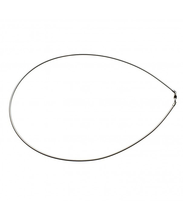 Sterling Silver 1 6mm Nickel Necklace