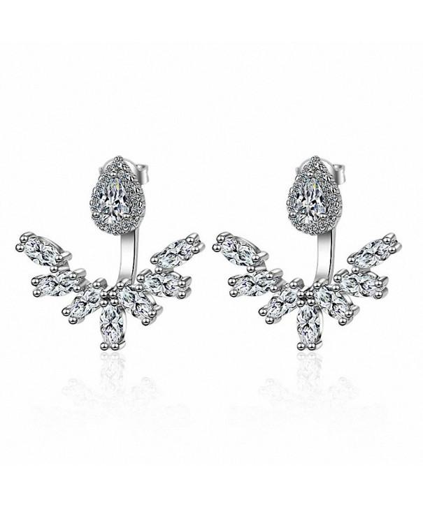 megko Fashion Crystal Earrings teardrop1