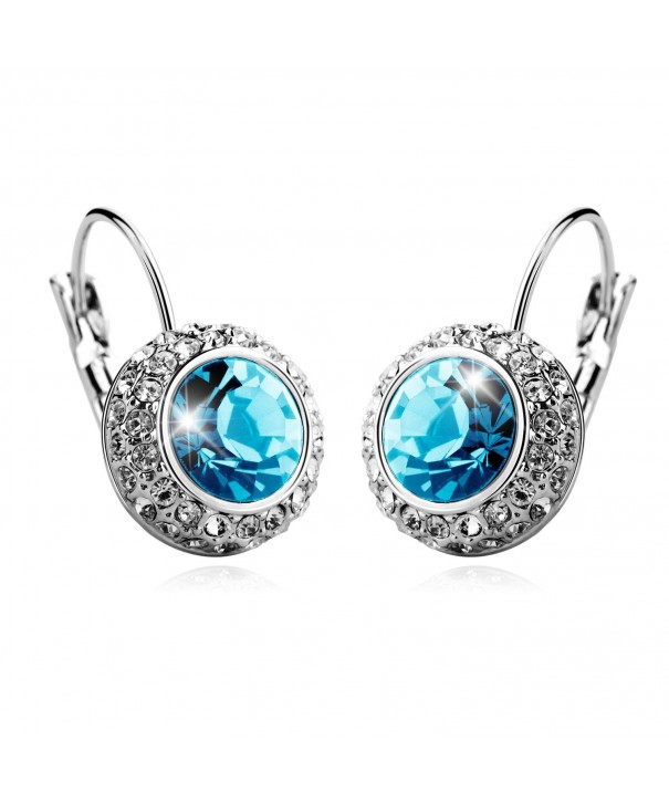 T400 Jewelers Earrings Swarovski Crystals