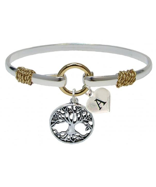 Bracelet Custom Silver Jewelry Initial