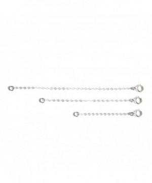 Sterling Silver Necklace Bracelet Extender