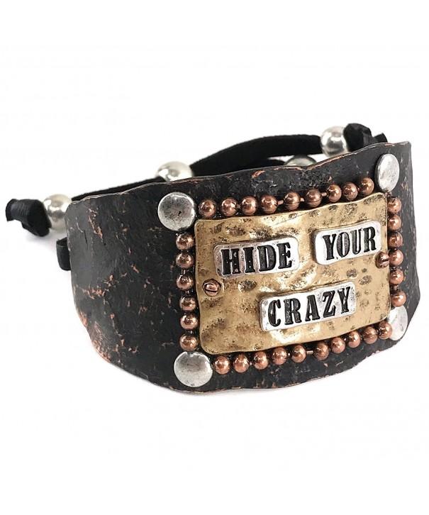 Western Peak Tritone Hammered Bracelet