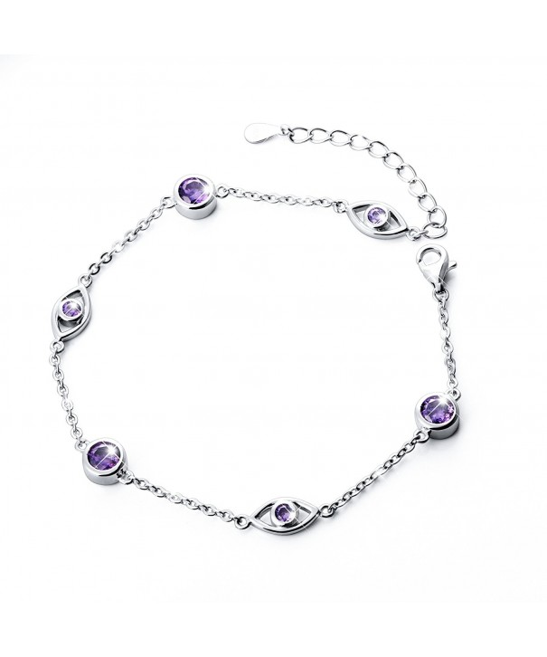 Sterling Silver Adjustable Bracelet 6 9 8 1