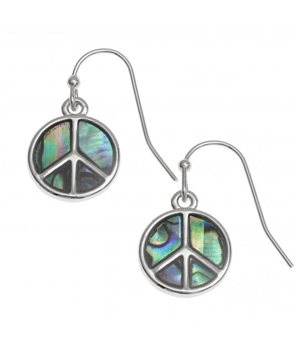 Liavys Peace Sign Fashionable Earrings