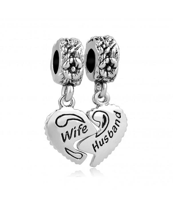 Valentines LovelyJewelry Husband Charms Bracelets