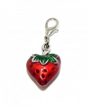 Pro Jewelry Clip Strawberry Dangling