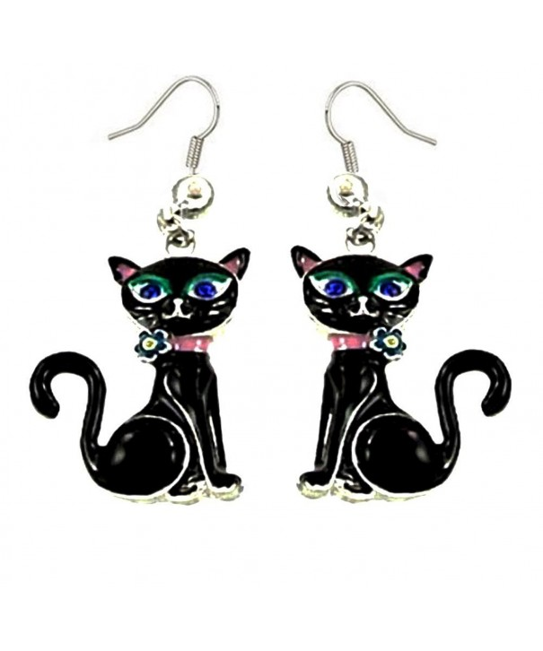 DianaL Boutique Adorable Earrings Enameled