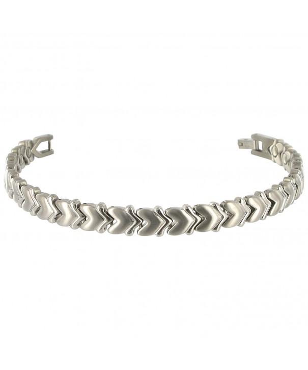 Gem Avenue Titanium Magnetic Bracelet