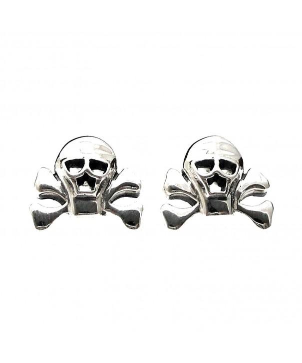 Pirate Danger Sterling Silver Earrings
