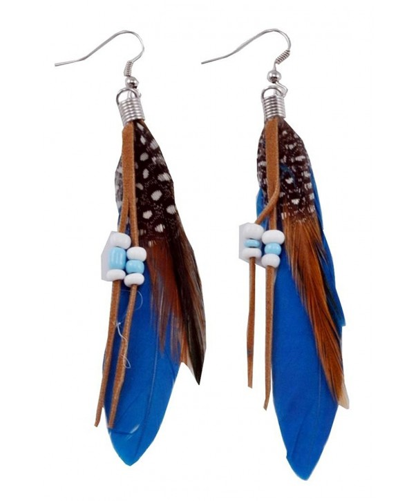 Hinky Imports Feather Earrings 19