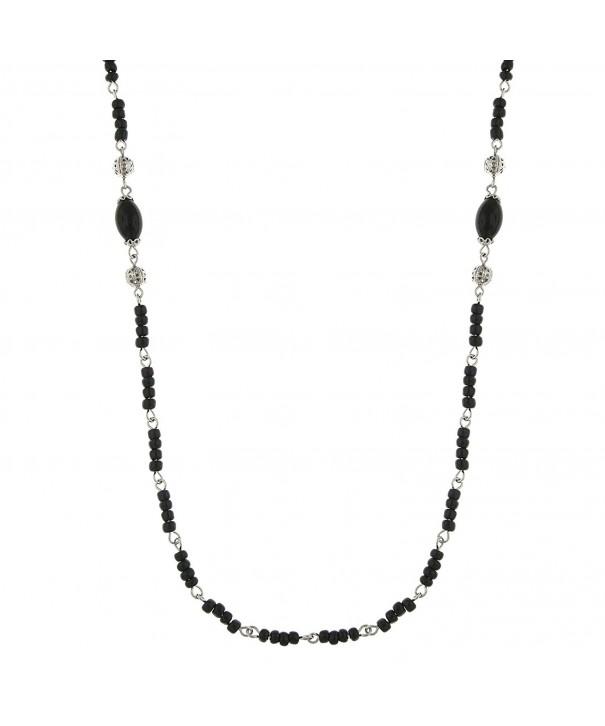 Downton Abbey Silver Tone Filigree Necklace
